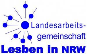 Logo LAG Lesben in NRW e.V.