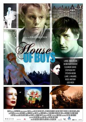 Film Poster HOUSE OF BOYS von Regisseur Jean-Claude Schlim mit Udo Kier, Ross Antony, Stephen Fry