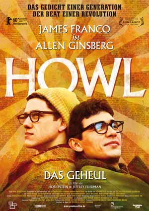 Poster HOWL – DAS GEHEUL mit James Franco