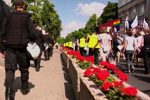 Filmstill BEYOND GAY: THE POLITICS OF PRIDE
