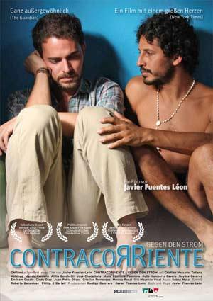 Poster CONTRACORRIENTE – GEGEN DEN STROM, ein Film von Javier Fuentes Léon, mit Cristian Mercado und Manolo Cardona