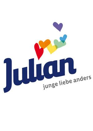 Film Poster JULIAN – JUNGE LIEBE ANDERS, anyway Köln, Uraufführung