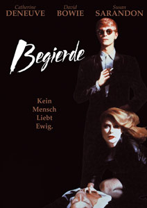 Poster BEGIERDE - HUNGER, David Bowie, Susan Sarandon, Catherine Deneuve