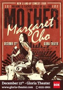 Poster MOTHER, live show von Margaret Cho