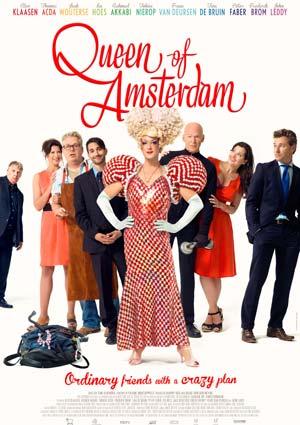 Poster Queen of Amsterdam – Chez Nous