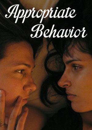 Poster APPROPRIATE BEHAVIOR - Einfach ungezogen