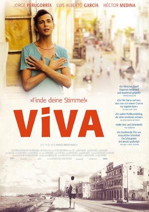 Film Poster VIVA von Paddy Breathnach mit Héctor Medina, Jorge Perugorría, Luis Alberto García und Renata Maikel Machin Blanco