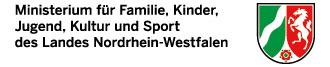 Logo Land NRW, Ministerium für Familie, Kinder, Jugend, Kultur und Sport des Landes Nordrhein-Westfalen