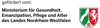 Logo Ministerium für Gesundheit, Emanzipation, Pflege und Alter des Landes NRW