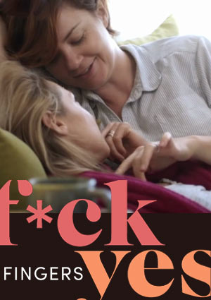 Film Poster F*ck Yes - Fingers von Emily Best