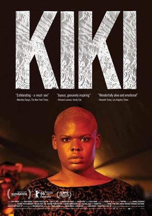 Film Poster KIKI von Sara Jordenö; Gewinner eines Teddy Awards und des QueerScope-Debütfilmpreises