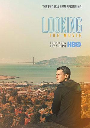 Film Poster LOOKING von Andrew Haigh mit Jonathan Groff, Murray Bartlett, Frankie J. Alvarez, Lauren Weedman, Russell Tovey und Raúl Castillo