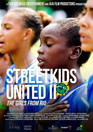 Film Poster STREETKIDS UNITED II – THE GIRLS FROM RIO (NRW-Premiere) von Maria Clara