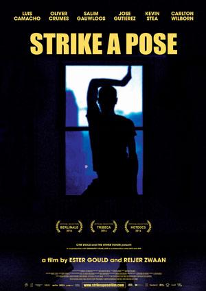Film Poster STRIKE A POSE von Ester Gould & Reijer Zwaan