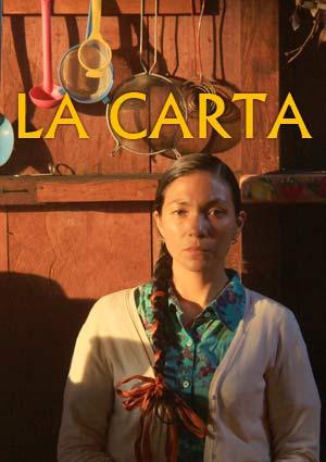 Film Poster THE LETTER - LA CARTA von María De Los Ángeles Cruz Murillo, Publikumspreis-Gewinner, audience award winner Chromie 2016