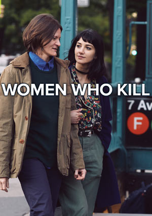 Mock-Up Poster WOMEN WHO KILL von Ingrid Jungermann