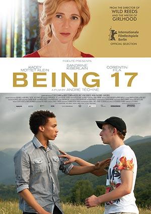 Film Poster MIT SIEBZEHN – BEING 17 – QUAND ON A 17 ANS von André Téchiné und Céline Sciamma, mit  Sandrine Kiberlain, Kacey Mottet Klein, Corentin Fila