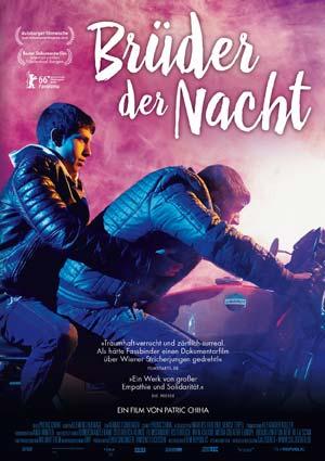 Film Poster BRÜDER DER NACHT von Patric Chiha, in der Sektion Panorama der Berlinale 2016 uraufgeführt