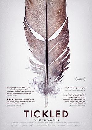 Film Poster TICKLED von David Farrier und Dylan Reeve