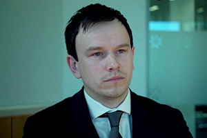Rob Ostlere, Hauptdarsteller des kurzen Spielfilms SHADOW PLANT von Regisseur Jonathan Reid-Edwards im schwulen Kurzfilm-Wettbewerb des 7. Filmfests homochrom in Köln und Dortmund