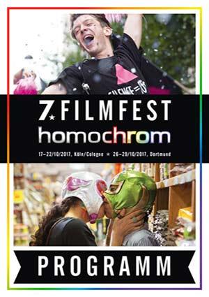 Poster des 7. Filmfests homochrom im Köln und Dortmund