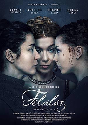 Film Poster DEMIMONDE – FÉLVILÁG von Attila Szász mit Patricia Kovács, Dorka Gryllus und Laura Döbrösi