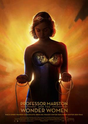"Film Poster PROFESSOR MARSTON AND THE WONDER WOMEN von Angela Robinson (""The L-Word"", ""D.E.B.S."", ""Girltrash"") mit Luke Evans, Rebecca Hall, Bella Heathcote und Oliver Platt"