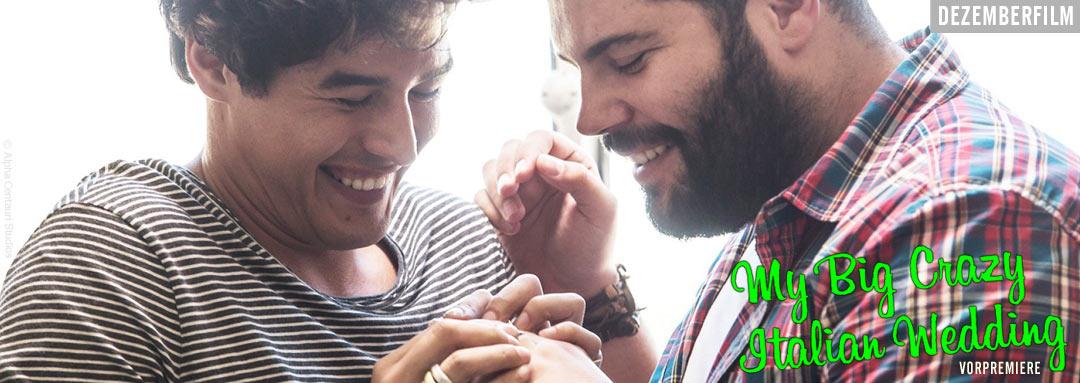 Film Slider der romantischen Komödie MY BIG CRAZY ITALIAN WEDDING von Ko-Autor und Regisseur Alessandro Genovesi, Italien 2017