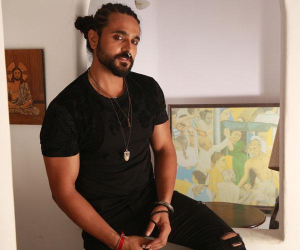 Porträt des Filmgastes Ashish Sharma, Indien