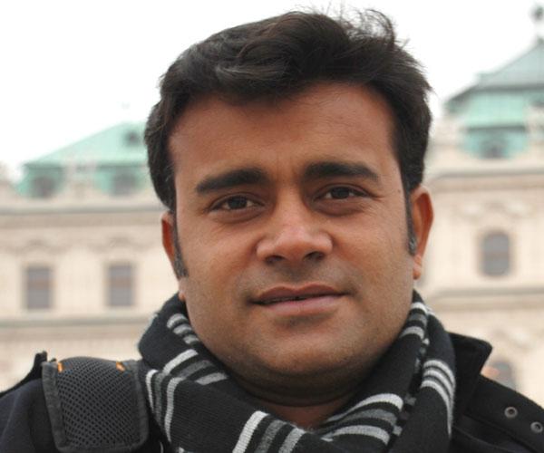 Porträt des Filmgastes Rohit Dwivedi, Indien