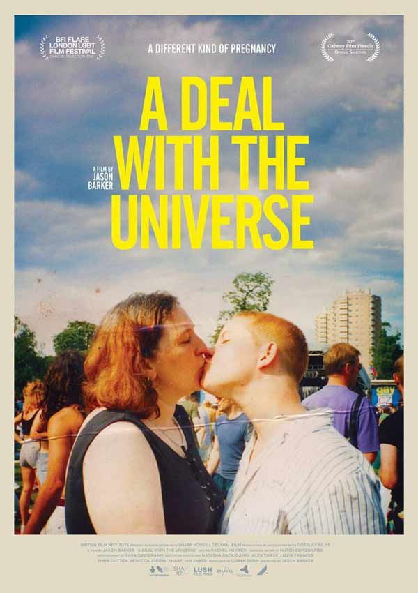 Film Poster A DEAL WITH THE UNIVERSE vom transsexuellen Filmemacher Jason Barker aus England, 2018