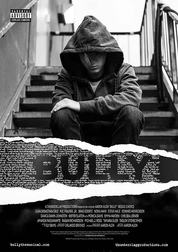 Film Poster Bully von Regisseur, Autor und Komponist Aaron Alon, USA, 2018
