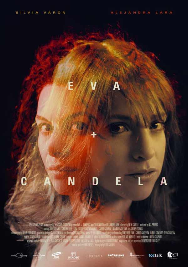 Film Poster EVA + CANDELA von Autorin, Regisseurin und ausführender Produzentin Ruth Caudeli aus Kolumbien, 2018