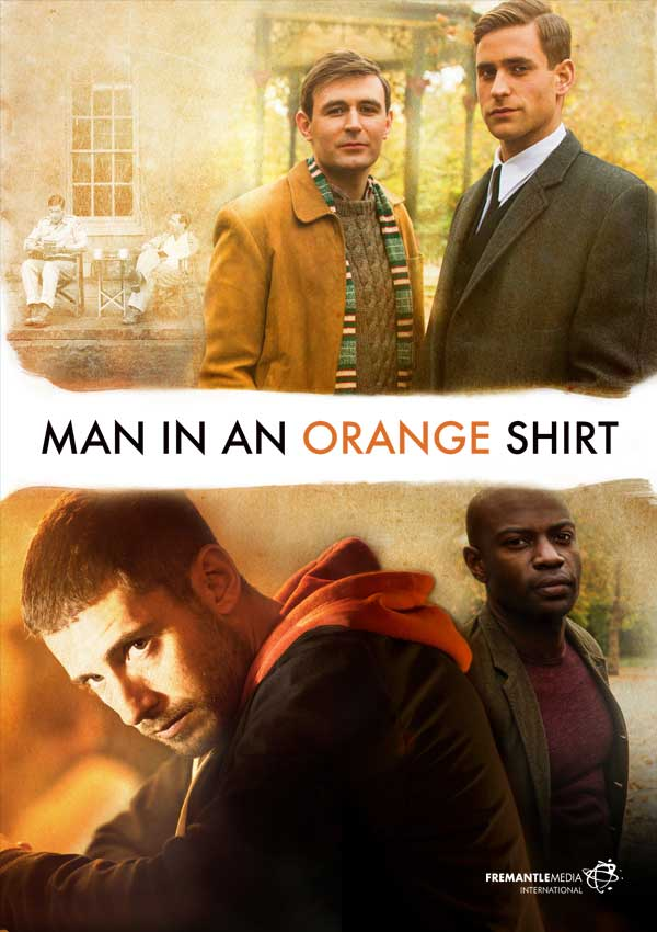 Film Poster MAN IN AN ORANGE SHIRT von Regisseur Michael Samuels, BBC-Zweiteiler aus GB, 2017