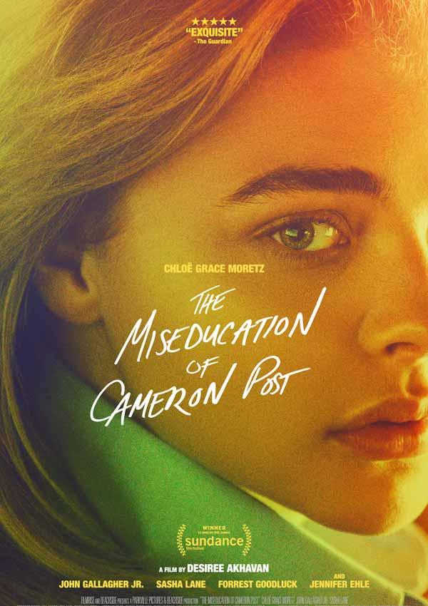 Film Poster THE MISEDUCATION OF CAMERON POST von Regisseurin, Ko-Autorin und ausführender Produzentin Desiree Akhavan aus USA, 2018, mit Chloë Grace Moretz