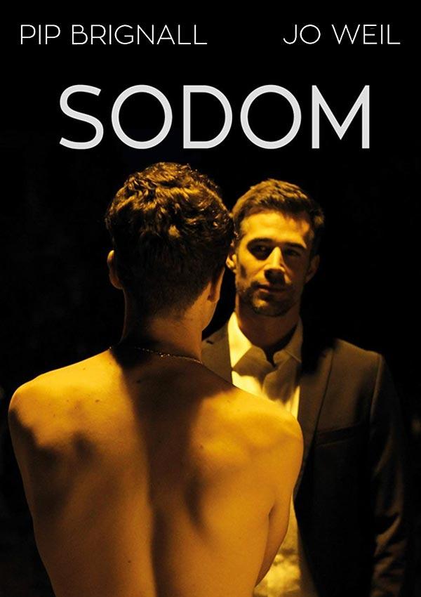 Film Poster SODOM von Regisseur und Autor Mark Wilshin aus England, 2017, mit Pip Brignall und Jo Weil