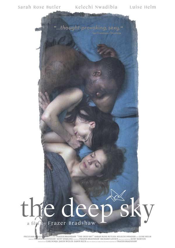 Film Poster THE DEEP SKY von Regisseur, Autor, Produzent und Kameramann Frazer Bradshaw aus USA, 2017, mit Luise Helm