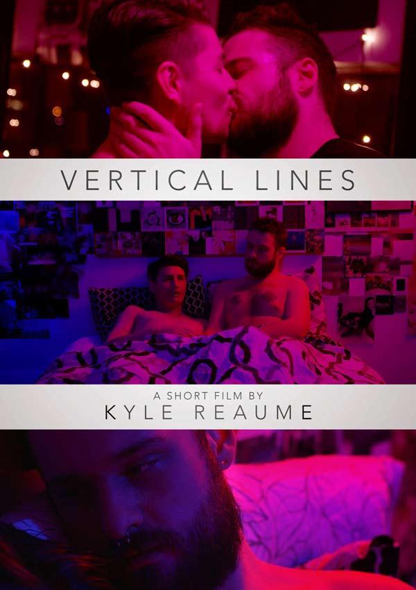 Film Poster VERTICAL LINES von Regisseur, Ko-Autor, Hauptdarsteller und Editor Kyle Reaume, CDN 2018