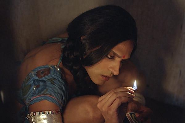 Film Still KHEJDI von Debüt-Regisseur Rohit Dwivedi aus Indien, 2018, mit Hindi-TV-Star Ashish Sharma, die in Köln zu Gast sein werden